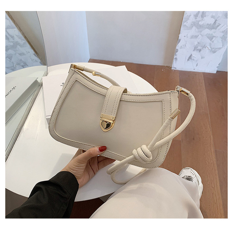 High Quality Designer Bags For Women 2020 PU Leather Female Baguette Bags Sac A Main Femme Shoulder Bag Bolsos Crossbody Bag