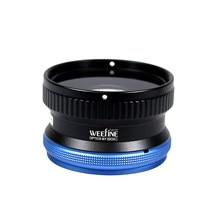 Nitescoba mergulho weefine wfl03 close-up lente molhada macro m67 montagem 67mm para sony rx100 câmera habitação fotografia subaquática
