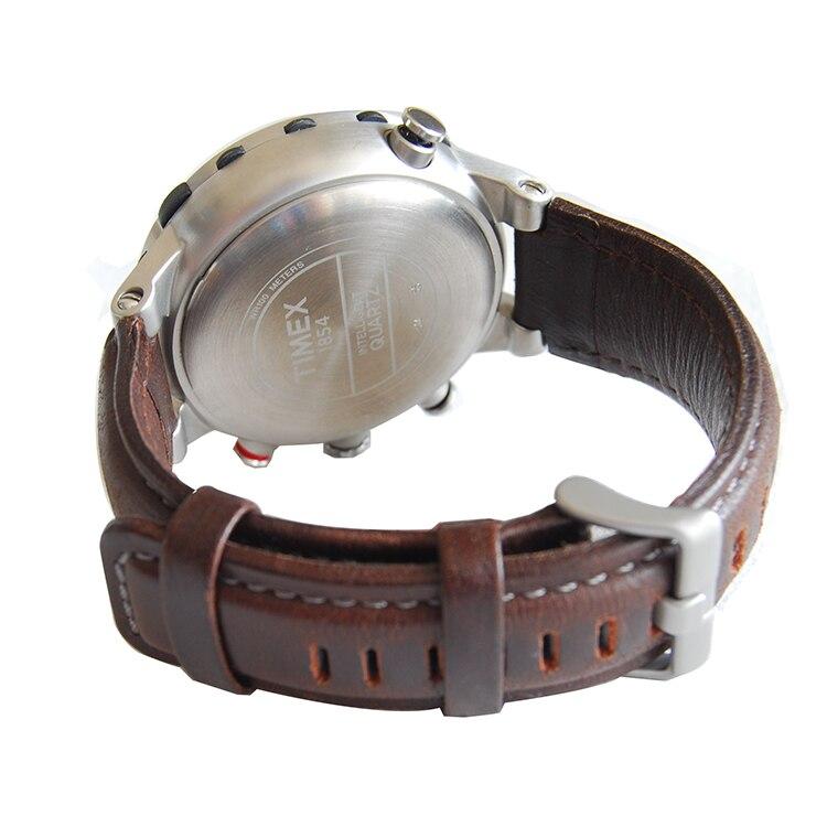 Pulseira de Relógio de Couro Substituição para Relógios Genuíno. Timex E-tide Compass T45601 & T2n721