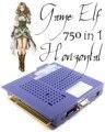 Новый игровой эльф 750 мульти аркадные игры  JAMMA доска CGA/VGA выход MAME горизонтальный