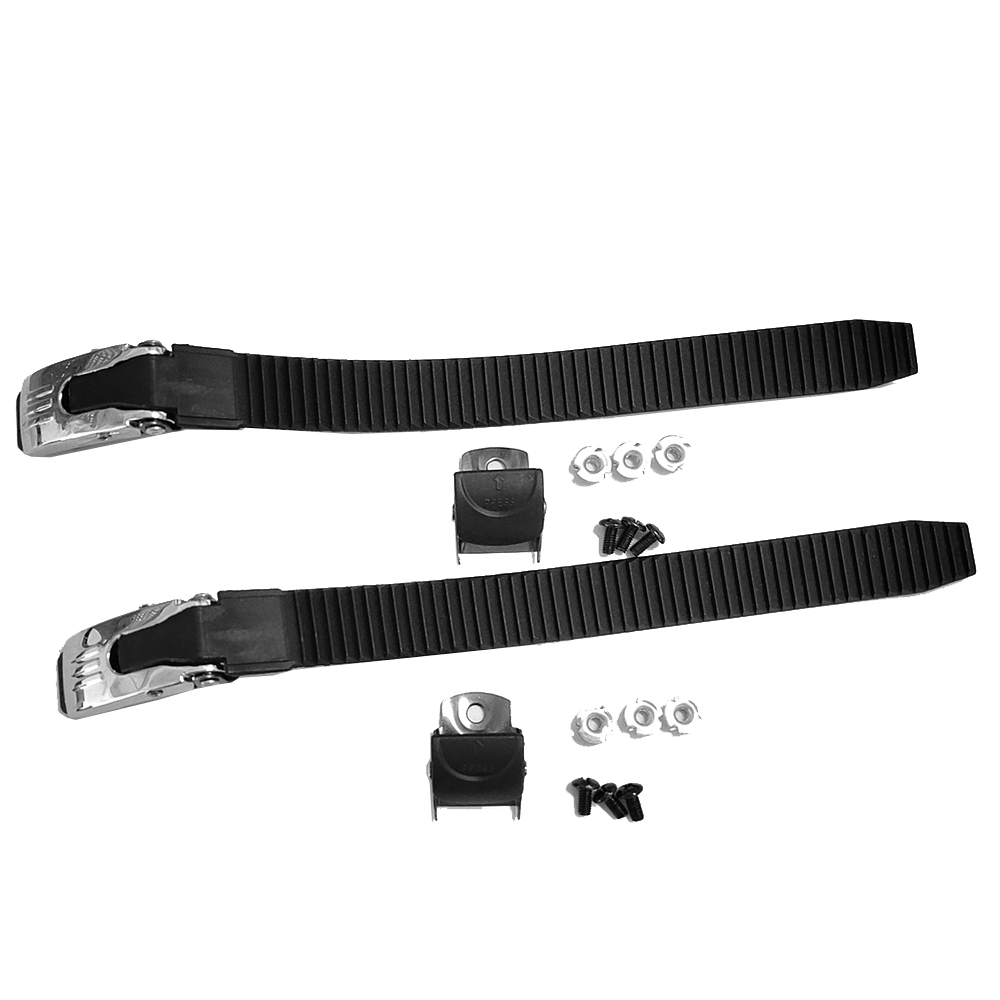 2Pcs Replacements Inline Roller Skating Shoes Energy Strap With Screws Nuts For Inline Roller Skate Wheel Repair Tools