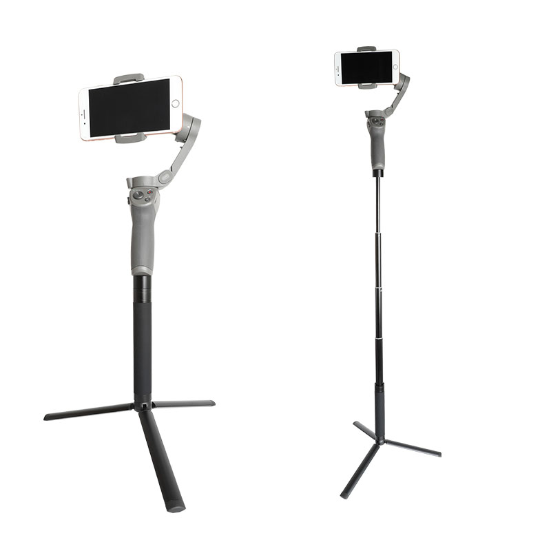 Tripod And Extension Pole Set, Handheld Selfie Stick For Gimbal Stabilizer/DJI Osmo Mobile 3 2/ZHIYUN/Feiyu Mount Accessories