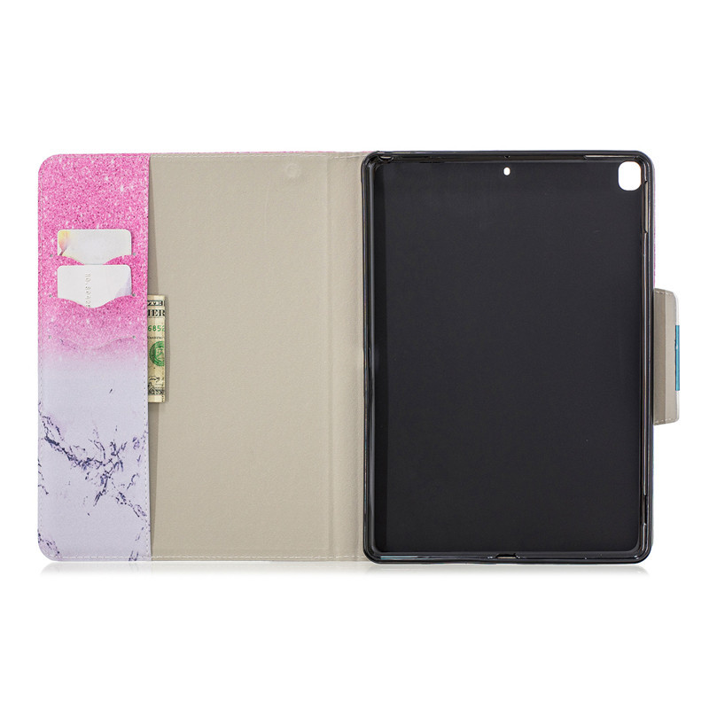 Cover 7th Wekays Leather For Cartoon For 7th Unicorn iPad 2019 10.2