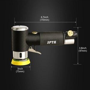"Image 3 - SPTA 1 ""/2""/3 ""אקראי מסלול אוויר מלטשת מיני פנאומטי טחינת מכונת לליטוש רכב גבוהה מהירות אוויר מופעל מלטש לטש"