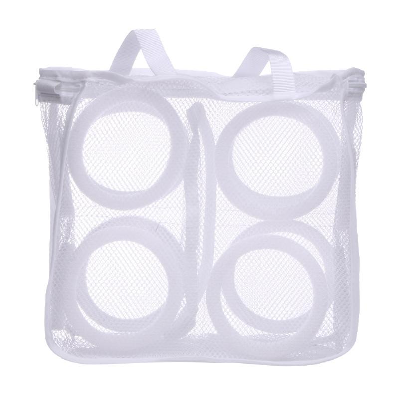 Mesh Laundry Shoes Bags Dry Shoe Organizer Portable Washing Bags