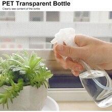 Вода бутылка 200 мл пустой спрей бутылка прозрачный насос полив бутылка для салона растения распылитель бутылка