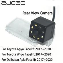 цена на ZJCGO CCD Car Rear View Reverse Back Up Parking Night Vision Waterproof Camera for Toyota Land Cruiser 200 J200 LC200 V8 Roraima