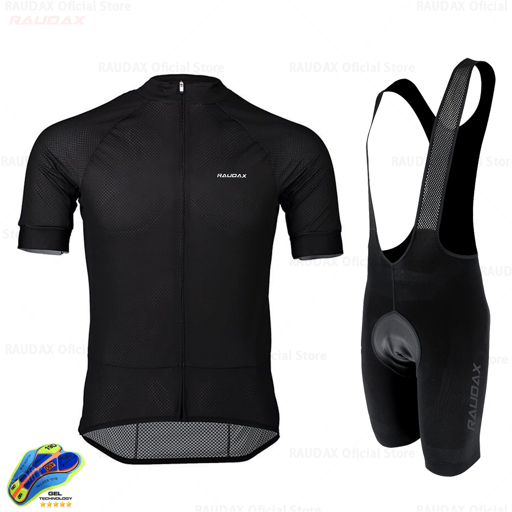 RAUDAX 2020 Summer Cycling Jersey Set Breathable MTB Cycling Clothing Mountain <font><b>Bike</b></font> <font><b>Wear</b></font> Clothes Maillot Ropa Ciclismo image
