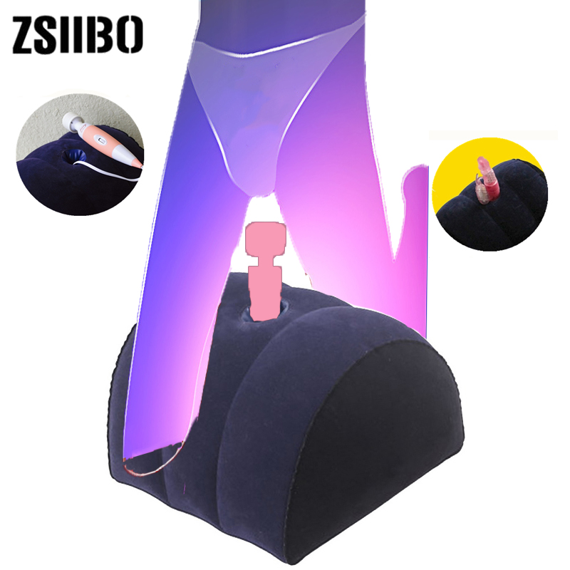 Products For Adults Flocked Sex Pillow Inflatable Pillow Sex Toys For Women Pillow For Love Position Toys For Adults Sex Sofa