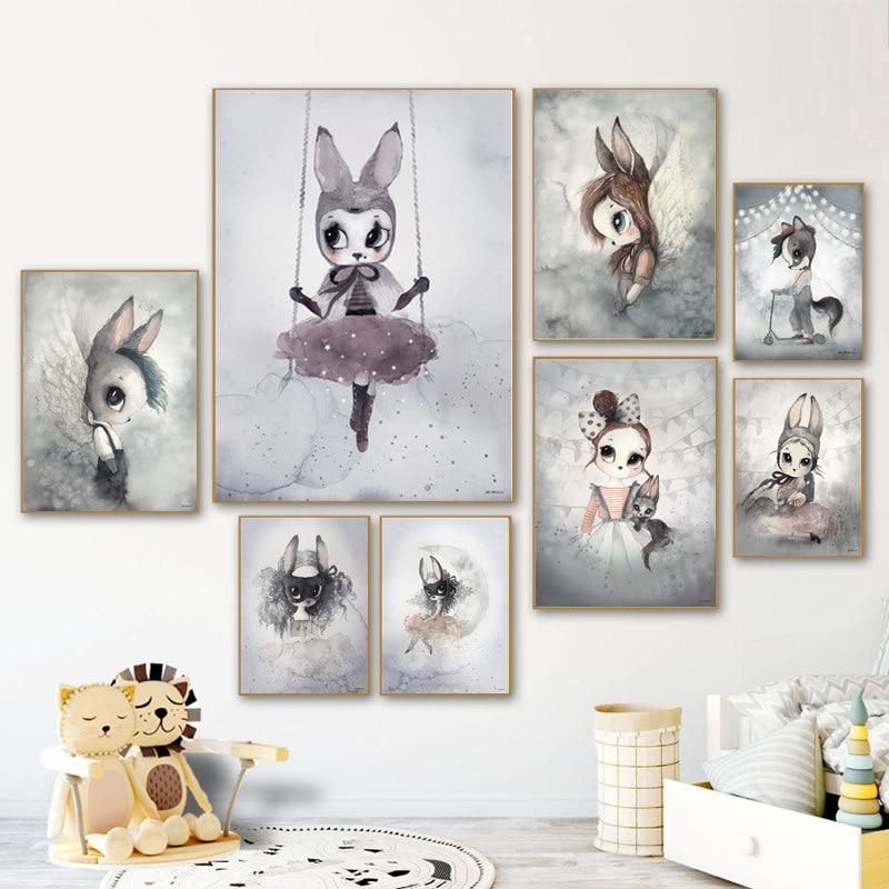 Baby Boys Girls Room Wall Art Decor Nursery Wall Art Wall Art Prints Poster