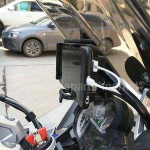 Image 5 - Mobile Phone USB GPS Navigation Bracket USB Charging Mount support For BMW R 1200 GS R1200GS LC/ADV 2013 2018 S1000R S1000XR