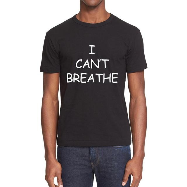 I Can't Breathe T-Shirt in Memory of George Floyd - 100% Cotton 1