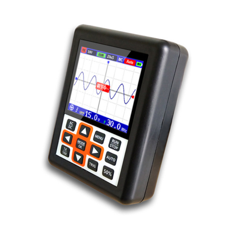 O120 200MSa/S Mini <font><b>DSO338</b></font> 30MHz LCD Digital Oscilloscope IPS Analyzer Supply image