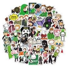 10/30/50PCS Anime Dream Smp Stickers Water Bottle Laptop Bicycle Waterproof DIY Graffiti Decal Cartoon Sticker Packs Kid Toy