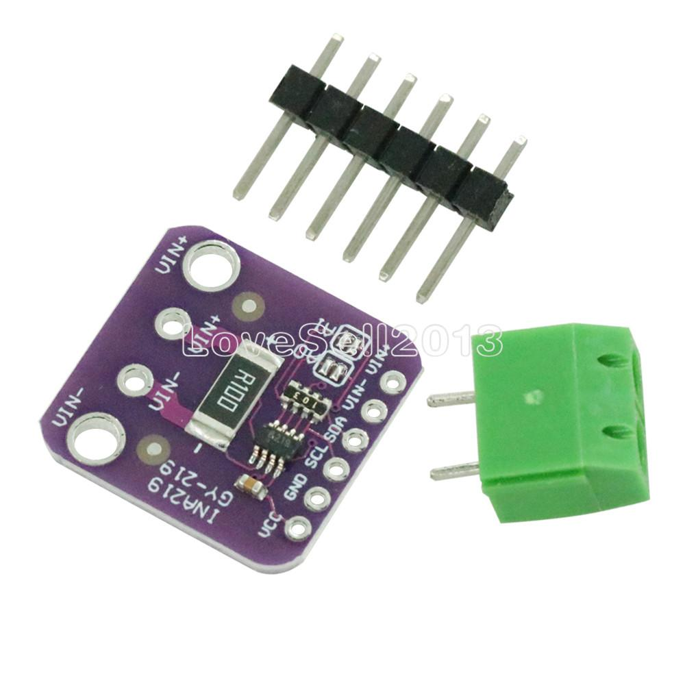 INA219 GY-219 GY219 Current Power Supply Sensor Breakout Board Module Sensor Module I2C Interface For Arduino DIY DC INA219B
