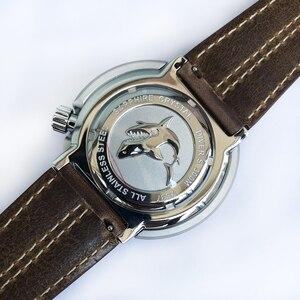 Image 5 - San Martin nowy tuńczyk SBDC035 zegarki ze stali nierdzewnej nurkowanie zegarki 30ATM VS37 zegarek kwarcowy dla kobiet mężczyzn