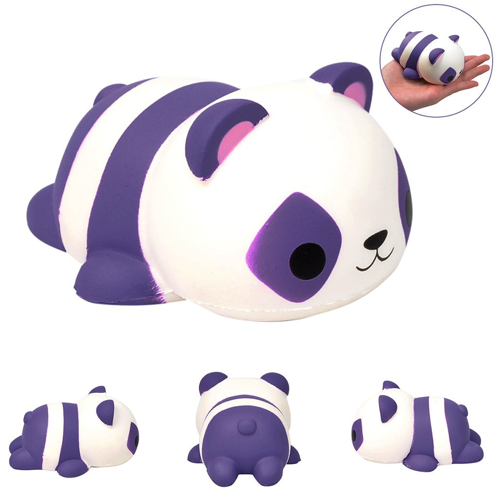 Squishy Anti-Stress Toy New Arrival Super Cute Small Toys Slow Rebound Decompression Venting Toys Cute Simulation Panda Toy