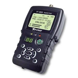 Image 4 - VF 8600 Satellite Finder For Satellite TV Receiver Satfinder With Compass sat Finder Full support DVB S/DVB S2/MPEG 2/MPEG 4