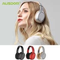 Ausdom M09 Bluetooth casque sur-oreille filaire sans fil casque pliable Bluetooth 4.2 stéréo casque avec micro Support TF carte