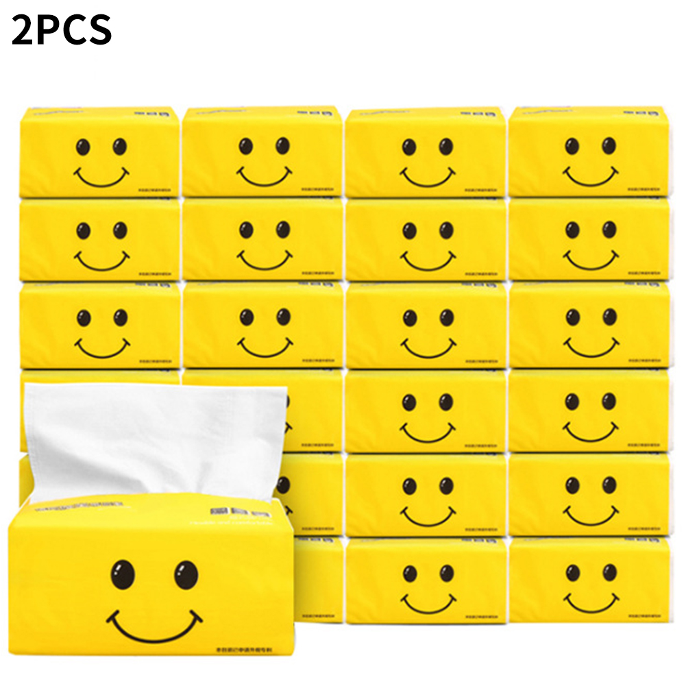 2packs Paper Towels Adults Soft Toilet Sanitary Native Wood Pulp Baby Available Kitchen Household Facial Tissues Pumping