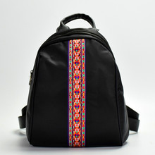Water-proof Ethnic Embroidery Backpack Oxford Nylon Multi-Functional Women's Mini Style 2020 New Shoulder Bags Chinese Hmong