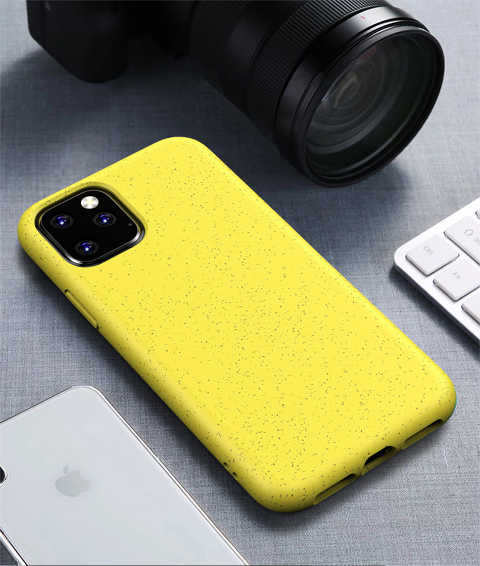 !ACCEZZ Candy Color For iPhone 11 Pro Max Case 2019 New TPU Soft Matte Protection Back Cases Cover Cell Phone Skid Shell Coque (10)