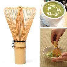 Matcha Green Tea Powder Whisk Matcha Bamboo Whisk Japanese Ceremony Grinder Brushes Tea Tools Holder Accessories japanese tea brush practical matcha tea powder bamboo 64 whisk green tea chasen brush tool
