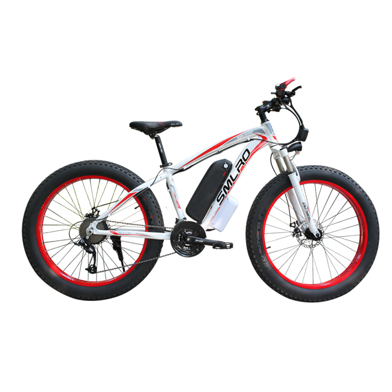 XDC600 SMLRO Newest Model electric bicycle 26*4.0 Inch 48V 350W Snowbike E Bike 2