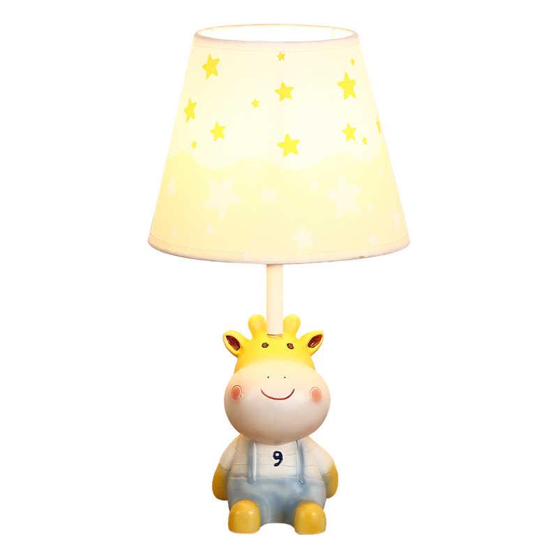 BOTIMI мультяшный светодиодный настольный светильник для спальни для мальчиков прикроватный светильник ing для девочек Настольный светильник настольные лампы для детей Детский Светильник