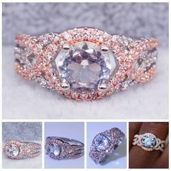 Renk Ayırma Takı Nişan Yüzüğü Yüzükler Kadınlar Için alyanslar Anillos Mujer Bagues Dökün Homme Bague Anillo Ringen