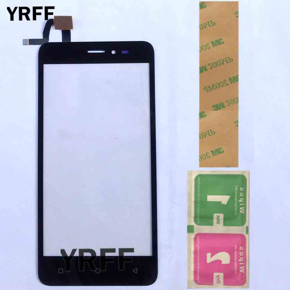 Phone Touch Screen Panel For Prestigio Wize G3 PSP3510 PSP 3510 DUO Touch Screen Touchscreen Digitizer Sensor Front Glass 3MGlue
