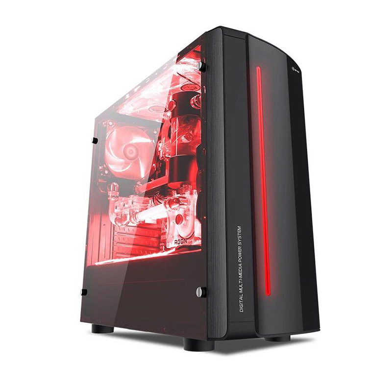 Funhouse computador de mesa amd a4 3300 h6410 2g 8g ddr3 ram 500g conjunto completo conjunto de high-end pubg e-sports diy gaming pc