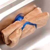 Cozinha lavagem pia de armazenamento ferramentas de classificação gadget conveniente esponja cabide titular ventosa organizador esponja titular