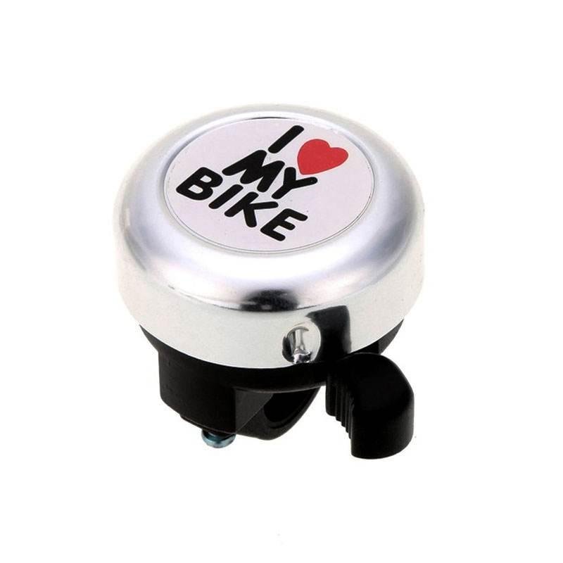 Bicycle Bell -' I Like My Bike'Bike Horn - Loud Aluminum Bike Ring Mini Bike Accessories for Adults Men Women Kids Girls Boys Bi