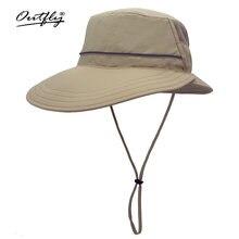 Шляпа от солнца outfly с широкими полями в форме тыквы для женщин