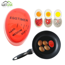 Egg Perfect Boiled Egg Timer Hard Medium Soft Color Changing Timer Red timer tools Magic Cooking Helper Cooking Kitchen 1pcs