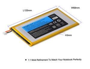Image 4 - KingSener P706T Neue Tablet batterie für DELL Venue 7 3730 Venue 8 3830 T02D T01C T02D002 T02D001 0CJP38 02PDJW 3,7 v 15,17 wh