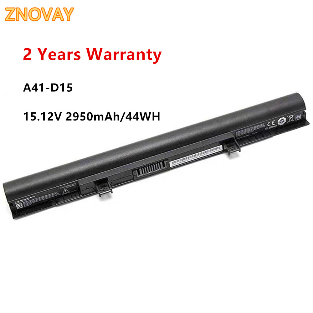 15.12V 44WH A41-D15 40050632 Laptop Battery For Medion Akoya E6416 P6659 E6424 P6657 ERAZER P6661 A42-D15 A42-D17 A31-D15(China)