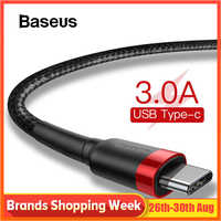 Baseus USB Type C Cable for xiaomi redmi k20 pro USB C Mobile Phone Cable Fast Charging Type C Cable for USB Type-C Devices