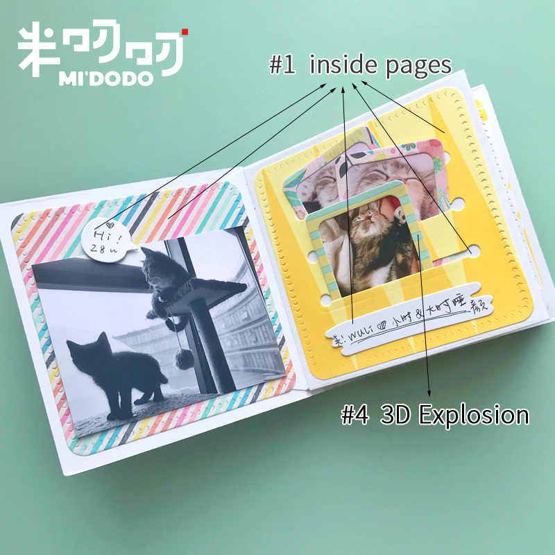 Four square Design Metal Cutting Die For DIY Scrapbooking Album Paper Card WG