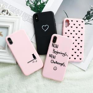Cute Case Etui A30 Heart A20E Silicon Samsung A40 Galaxy A10 for A31/a51 A71 Love A50