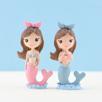 Cakesmile Resin Mermaid cake topper cupcake party for baking birthday decoration  cake decorating tools baking accessories cakesmile pink deer cake topper cupcake party for baking birthday decoration cake decorating tools baking accessories