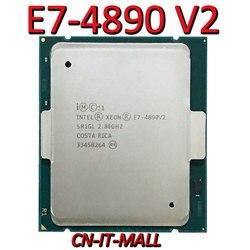 سحبت Xeon E7-4890 V2 خادم وحدة المعالجة المركزية 2.8G 37.5M 15Core 30 موضوع LGA2011 المعالج