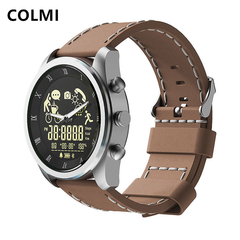 COLMI MIX 1 5ATM Smart Watch Professional Waterproof 365Days Battery Life Punch Hole Display Quartz Watch Full for Samsung phone