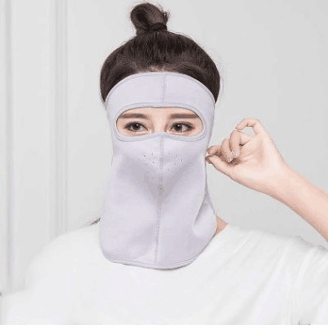 Protective mask Summer Unisex Outdoor Cycling Windproof UV Protection Neck Cover Full Face Mask Anti flu Anti Virus Mask 4