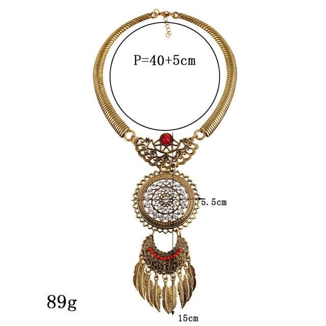 Lzhlq 2020 модное женское ожерелье винтажные массивные ожерелья