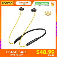 Realme Buds-auriculares inalámbricos Pro ANC, dispositivo con cancelación activa de ruido, hasta 35dB, Bluetooth 5,0, 13,6mm, controlador de bajos