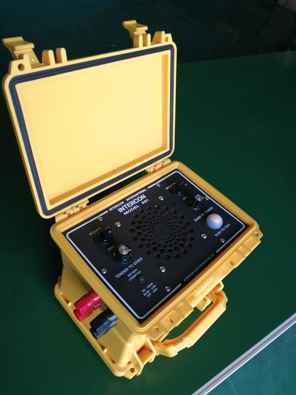 MZ300 Diving Telephone Intercom Diver Communicator Underwater Operation Communication System Diving Communication Equipment