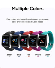 D13 1.3 inch Smart Watches 116 Plus Heart Rate Watch Smart Wristband Sports Watches Smart Band  Smartwatch for Android  IOS недорого