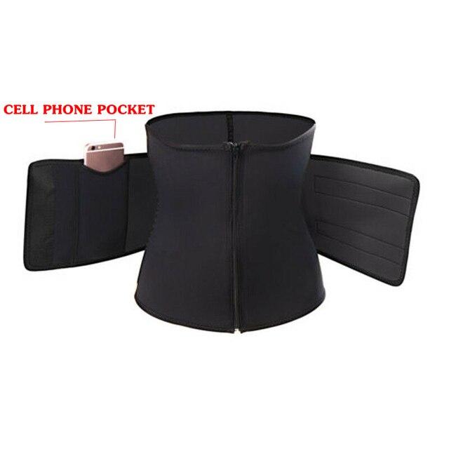 Men Women Slimming Belts Waist Trainer Cincher Trimmer Sweat Belt Gym Burn Fat Slim Body Shaper Unisex Slimming Belt S-3XL 4